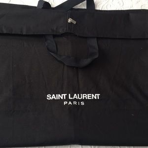 NWOT Saint Laurent garment bag